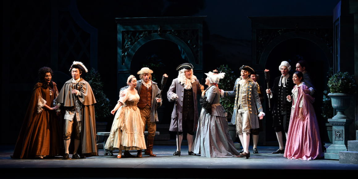 "A scene from ""Marriage of Figaro"""