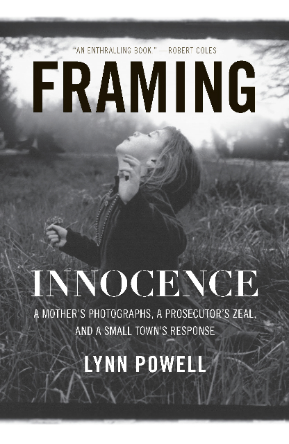 Framing innocence book cover.