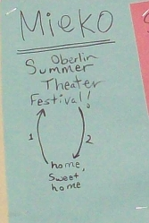 """Meiko: Oberlin Summer Theater Festival!"""