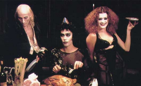 Riff Raff, Dr. Frank-N-Furter, and Magenta