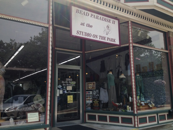 Store front: Bead Paradise