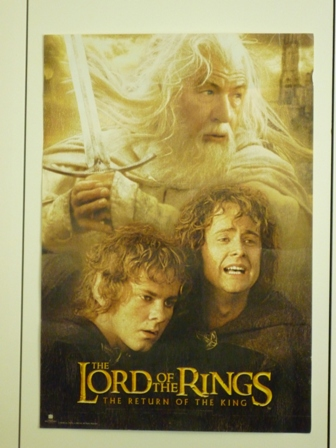 Movie poster for The Lord of the Rings: Return of the King
