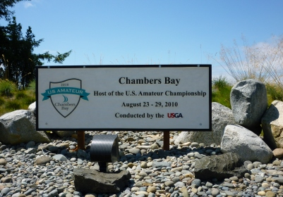 Chambers Bay sign