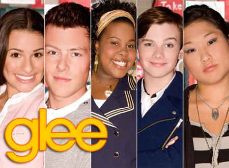 Five Glee cast members