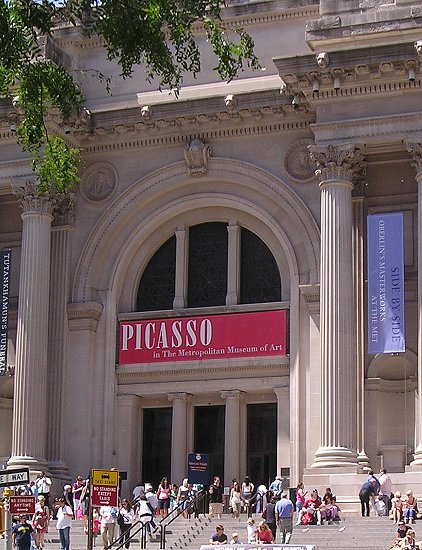 Poster for Picasso at the Met