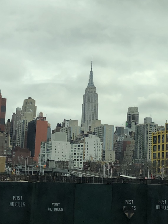 View of New York City in the daytime.