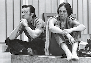 James Caldwell and Catharina Meints, circa 1972