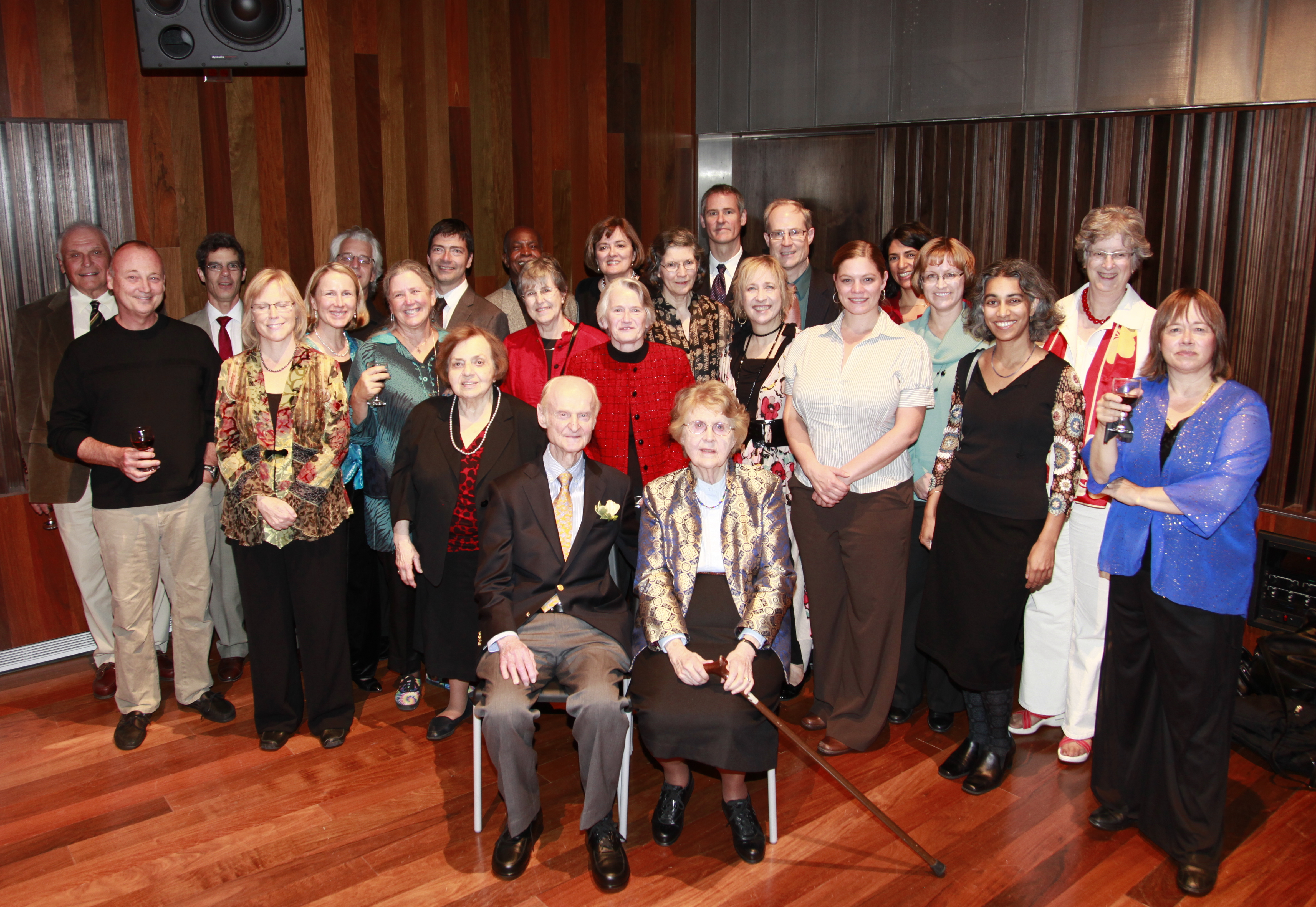 Robert Willoughby 90th birthday celebration photo