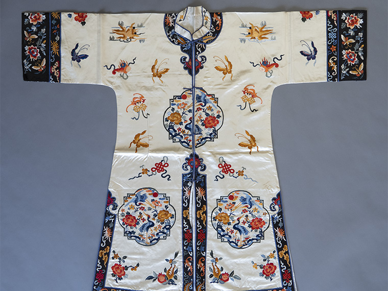 A Chinese robe.