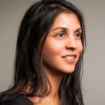 Portrait of Sonia Shah
