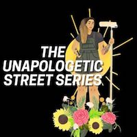 @theunapologeticallybrownseries Logo