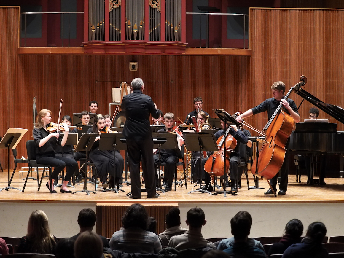 Contemporary chamber music oberlin college and conservatory for Chambre orchestra