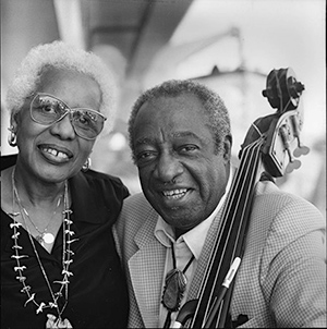 Milt and Mona in their later years