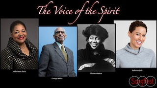 The Voice of the Spirit video cover, described in the page.