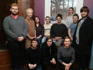 11 students in Nancy Darling's research group
