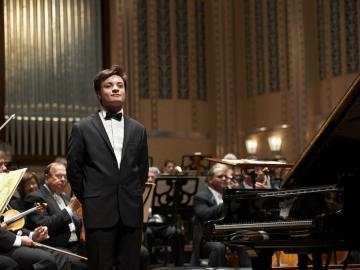 Leonardo Colafelice at the Concerto Finals in Severance Hall