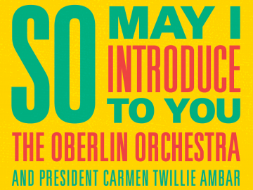 flyer announcing orchestra concert