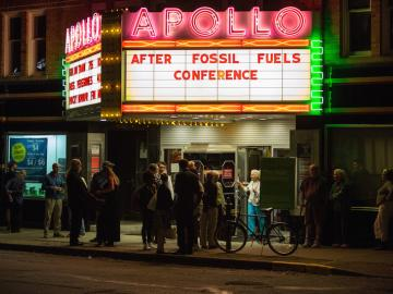 "Apollo Theater presents ""After Fossil Fuels Conference"""