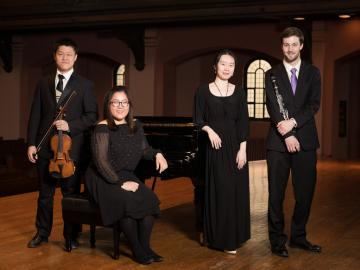 photo of 2018 Oberlin Concerto Competition winners