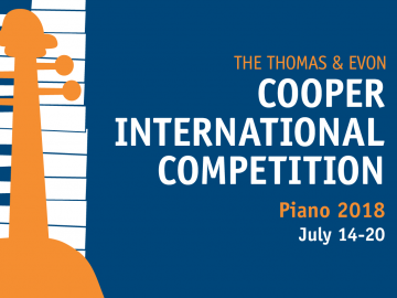 The Thomas & Evon Cooper International Competition, Piano 2018, July 14-20