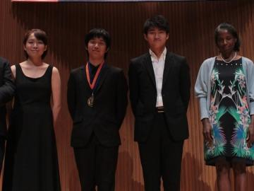 The 2013 Cooper International Competition Concerto Finalists