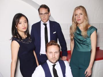 Members of the Doric String Quartet