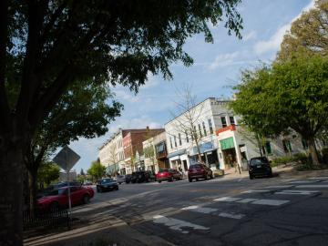 Downtown Oberlin, Ohio