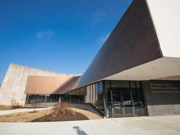 Eric Baker Nord Performing Arts Annex building at Oberlin College