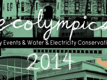 Ecolympics 2014 poster