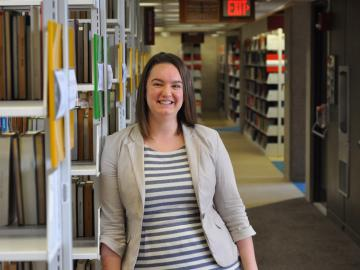 Elizabeth Sullivan, assessment and user experience librarian