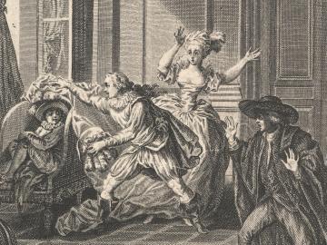Opera scene of Marriage of Figaro