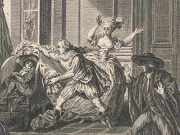 Opera scene of Marriage of Figaro