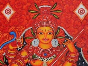 An Indian goddess