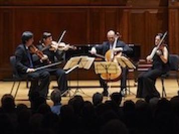 The Jupiter Quartet at Finney Chapel
