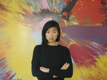 portrait of musical artist Mimi Xu