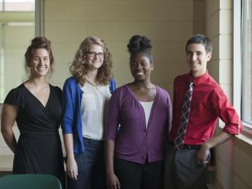 Four President's Public Service Fellows