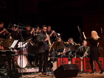 Oberlin Jazz Ensemble with Maria Schneider
