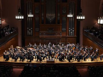 Cleveland Orchestra on the Finney stage