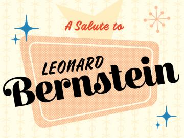 clip art providing salutation to Leonard Bernstein