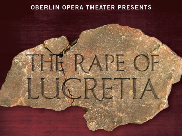 The Rape of Lucretia poster