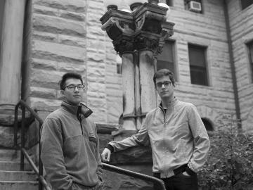 Spencer Tu and Eduardo Sienra-Lempeke
