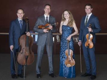 members of the St. Lawrence String Quartet