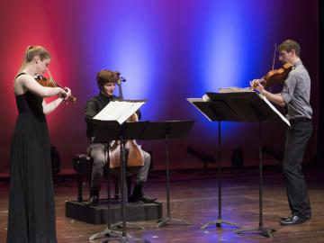 photo of Trio Ligatura at Kennedy Center