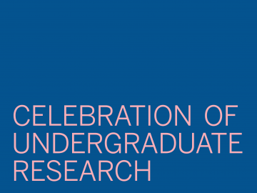 Celebration of Undergraduate Research Graphic text
