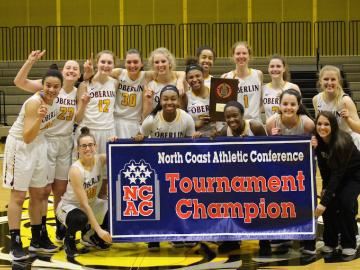 Oberlin College Women's Basketball 2018 NCAC Champions