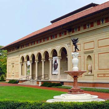 Exterior of the Allen museum