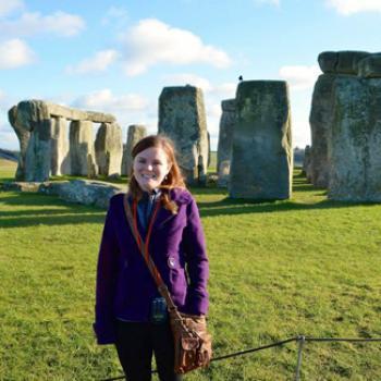 Brianna at Stonehenge