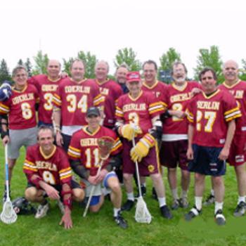 Alumni lacrosse team photo