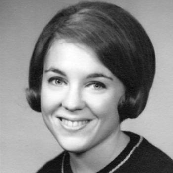 Ruth Adler Rosensweig. Black & white yearbook photo.