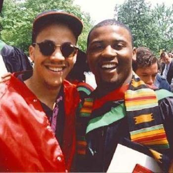 Tim at graduation.
